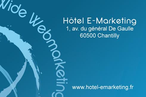 Carte De Visite Htel E Marketing